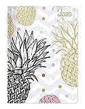 Ladytimer Pineapple 2020 - Ananas - Taschenkalender A6 (11 x 15) - Weekly - 192 Seiten - Notizbuch - Terminplaner