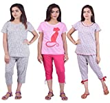 Limeberry Nightwear Set with Pack of Thr...