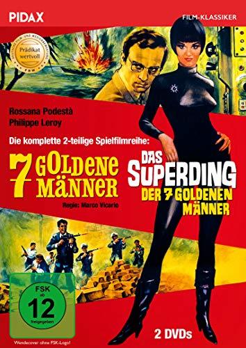 7 goldene Männer + Das Superding der 7 goldenen Männer / Die komplette mit dem Prädikat WE Preisvergleich