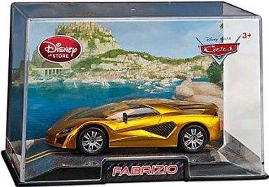 Disney Pixar Cars Exclusive 1:48 Die Cast Car Fabrizio (Disneystore exclusive) - Véhicule Miniature - Voiture