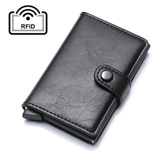 77dfa1aabd UNYU RFID Credit Card Holder, Portafogli Uomo Nero Taglia unica