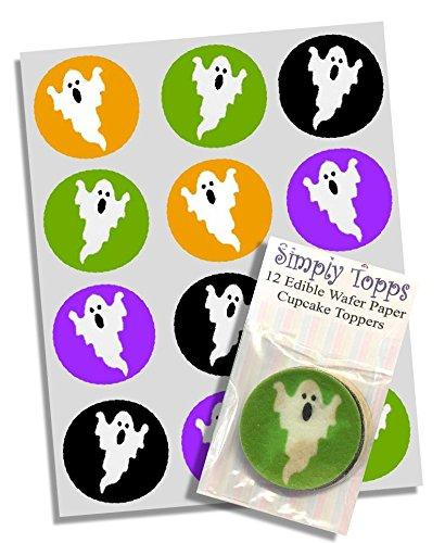 Halloween Gespenst Party Törtchen Abdeckungen 12pk