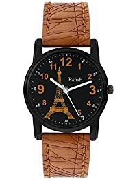 Relish Analog Eiffel Tower Black Dial Watches for Girls & Women RE-L069TT