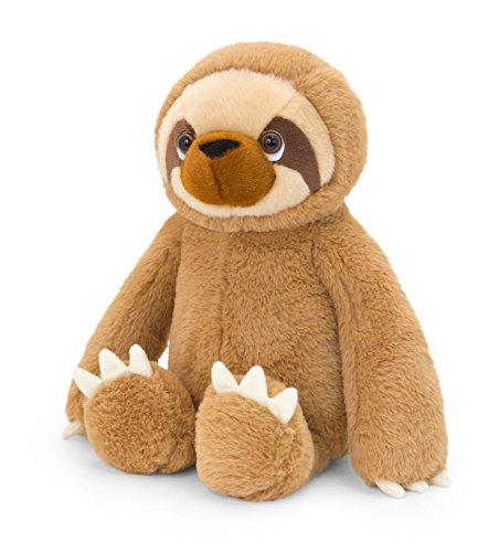 Keel Toys SW1817 Sloth - Peluche de Peluche, Color marrón, 18 cm