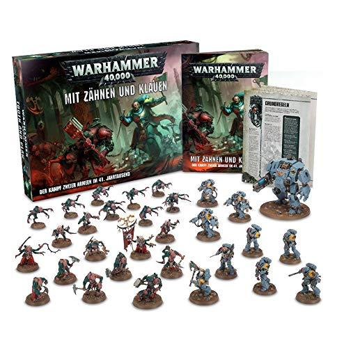 Unbekannt Warhammer 40.000: Mit Zähnen und Klauen (Deutsch) Genestealer Cult + Space (Klauen Und Zähne)