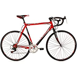 "KS Cycling Piccadilly 260B  - 公路车,红色,28车轮"",55 box cm"