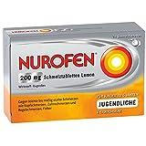 NUROFEN Schmelztabletten 200 mg Set 2x24 Stück.Universelles Schmerzmittel mit rascher Wirkung (über die Schleimhäute im Mund) Lemon. Mit 200 mg Ibuprofen. Für Kinder ab 6 Jahren geeignet.