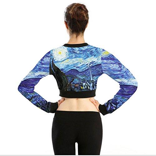 Belsen - Sweat-shirt - Femme Medium Van Gogh