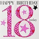 Claire Giles Alter Alter 18Mädchen Geburtstag Karte