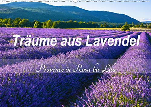 , Provence in Rosa bis Lila (Wandkalender 2020 DIN A2 quer) ()
