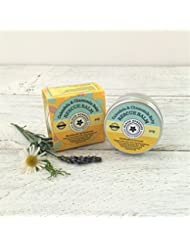 Calendula & Chamomile Organic Baby Rescue Balm - Made in Cornwall - 50ml - Our award winning organic Chamomile & Calendula Rescue baby balm is the first Bloom Balm in our range to have won 3 awards! It's the perfect product to soothe sensitive skin, dry skin, eczema, dermatitis, and psoriasis.