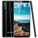 CUBOT X19 S 4G LTE Smartphone ohne Vertrag Handy 5.93″ FHD Display Android 9.0 4GB RAM 4000mAh Akku Dual-Kamera Dual-SIM (Schwarz)