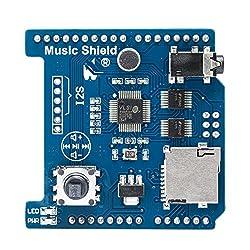 Music Shiled Music Board Module with TF Card Slot Maker MP3/MP4 Shield Arduino Compatible
