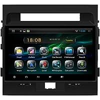 E-TONG Quad core 1024*600 HD Screen 2 Din Android 4.4 Toyota Land Cruiser 200 Car DVD Video Stereo GPS Navi Radio 3G wifi