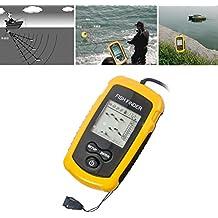 Ckeyin ® Detector de peces 100 M Detector con sonda Busca banco de peces- equipo necesario para los pescadores