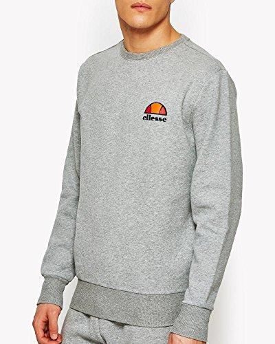 ellesse Herren Diveria Sweatshirt, Grau (ath Grey), S Plain Sweatshirt Herren