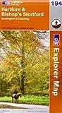 Hertford and Bishop's Stortford (Explorer Maps) (OS Explorer Map)