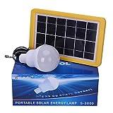 KK.BOL Solarlampe LED-Leuchtmittel für die Beleuchtung Zuhause, im Innen- und Außenbereich S3800