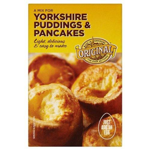 Original Yorkshire Puddings & Pancakes Mix - 3 x 142gm (Yorkshire Pudding-mix)