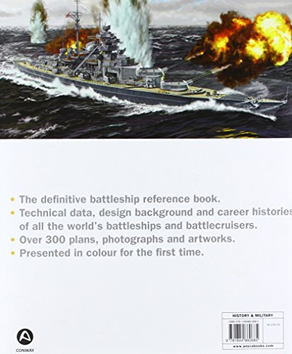 Conway's Battleships: The Definitive Visual Reference to the World's All-big-gun Ships: 0