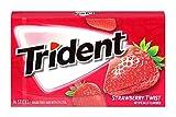 Best Chewing Gums - Trident Sugar Free Gum Strawberry Twist, 18stick Review