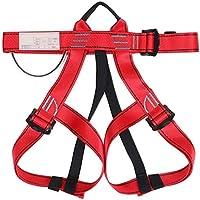 COUYY Arnés de Escalada La Mitad del Cuerpo del cinturón de Seguridad para el Alpinismo Salvador Escalada Escalada Rappel Árbol