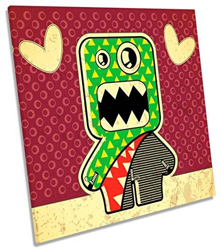 akter auf Leinwand, quadratisch Wand Kunstdruck Bild, 90cm wide x 90cm high (Cartoon Monster High Charaktere)