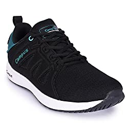 Campus County Black Running Shoes