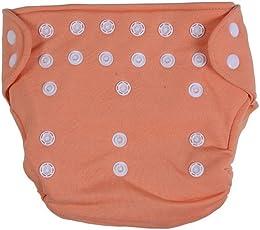 Quick Dry Reusable Diaper (Peach)