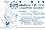Roba 8946 S145 Komplettwiegenset Jumbotwins, grau - 6