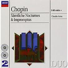 Chopin : Intégrale des nocturnes et des impromptus (Coffret 2 CD)