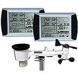 Froggit WH1080se twotouch (2pantallas) estación meteorológica profesional SOLAR pantalla táctil USB (nuevo exterior mástil)