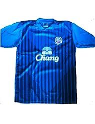 Thailändischer Verein-Fußball - Chonburi Fußball-Verein-Spitzen-T-Shirt