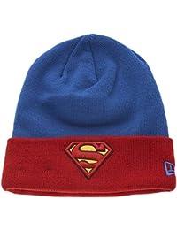 New Era x DC Comics - Bonnet Homme Superman Char Contrast Cuff - Blue / Red