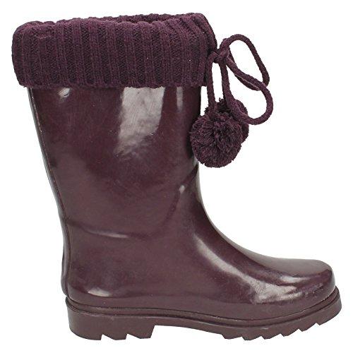 Spot On , Bottes en caoutchouc fille Violet - violet