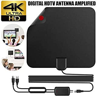 EisEyen Antenne TV Kabel Digital HD 200 Meile Reichweite Skywire TV 1080P 4K 16ft Koaxialkabel