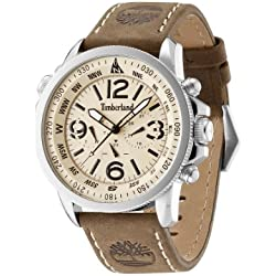 Timberland Men's Quartz Watch TBL.13910JS/07 with Leather Strap