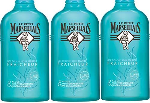 Le Petit Marseillais Douche Soin Fraicheur 250 ml - Lot de 3