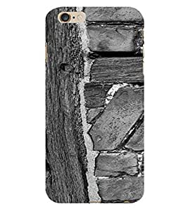 PrintVisa Wooden Design 3D Hard Polycarbonate Designer Back Case Cover for Apple iPhone 6S Plus