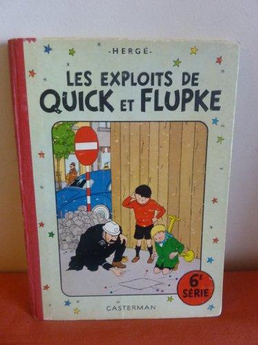 Les exploits de Quick et Flupke 6e série.