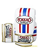 Yokkao Leder Sandsackhandschuhe Thaiflagge BYML1TH