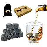 Best Whiskey Stones - Whisky Stones in Gift Box with Velvet Carrying Review
