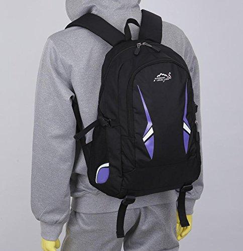 BM Outdoor Rucksäcke für Männer und Frauen Sport Freizeit Tasche Schule Taschen Taschen Umhängetasche violett
