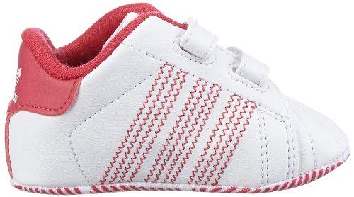 Adidas Originals Welcome q20455bébé fille tapis d'éveil Chaussures Pink (RUNNING WHITE FTW / BRIGHT PINK F12 / RUNNING WHITE FTW)