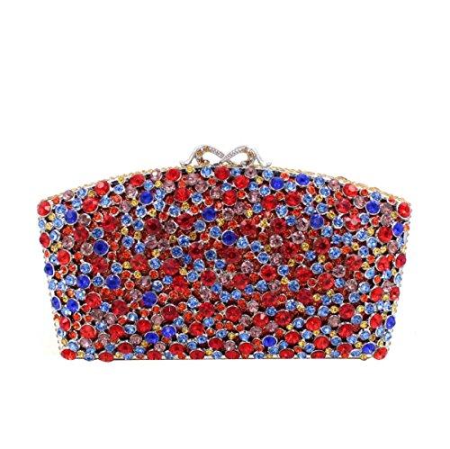 High-end Bag Cristallo Banchetto Borsa Da Sera Di Lusso Del Diamante Delle Donne E