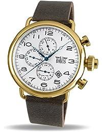 f1b4f16f6e68 Davis Reloj Multiesfera para Unisex Adultos de Cuarzo con Correa en Cuero  1936