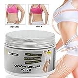 PINPOXE Anti-Cellulite Gel Straffende Aktiviert Die Haut zur Verbesserung Der Hautkontur, Hilfe Bei Orangenhaut und Cellulitis, 120ml