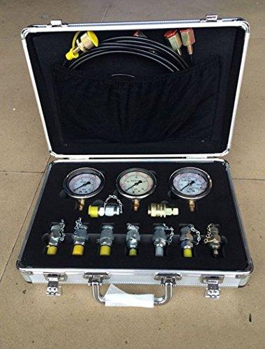 xztk-60m Bagger Hydraulische Druck Test Kit Hydraulische Tester Test Kupplung für Bagger Druck Sprache