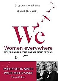 Women everywhere par Gillian Anderson
