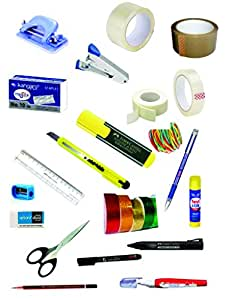 STATIONERY ESSENTIALS FOR YOU VALUE SET(23 pieces staionery kit)